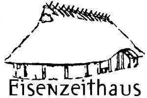 Eisenzeithaus mit schrift